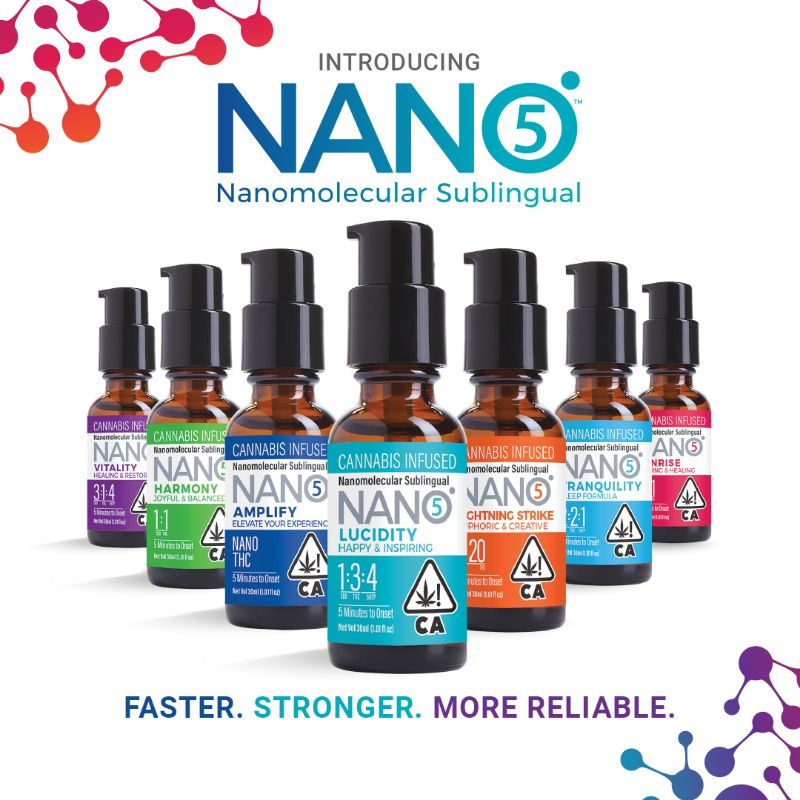 nano cannabis infused products