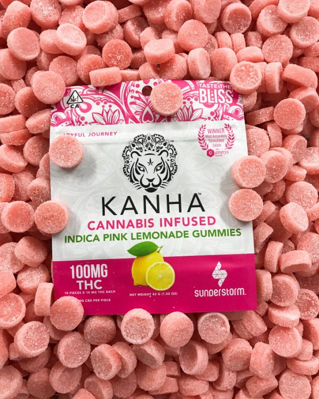 kanhanano pink lemonade gummies